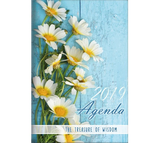 2019 Treasure of Wisdom Daily Agenda (Daisies)