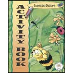 Insects Galore Activity Book