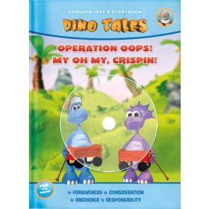 Dino Tales w/DVD-- Operation Oops!/My, oh my, Crispin!