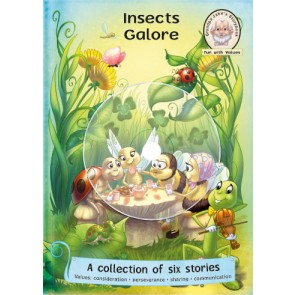 Insects Galore (with Dramatized Story CD)