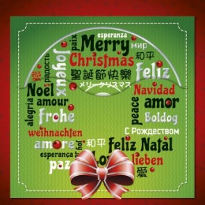 Greeting Card: Intl Merry Christmas